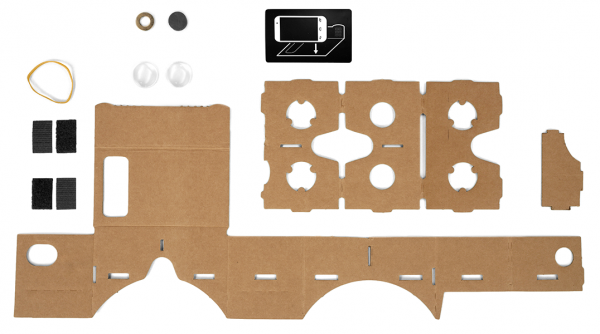 cardboard layout