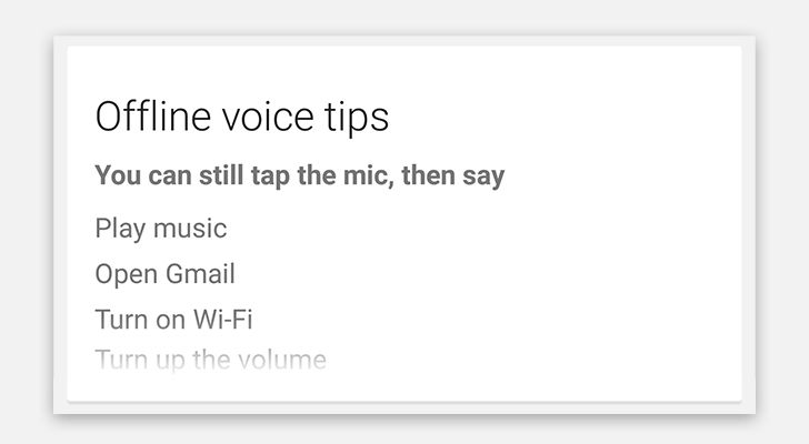 how to use voice command menu